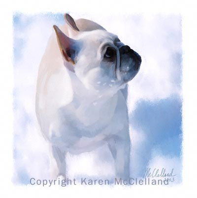 French Ice Cream painting by Karen McClelland
